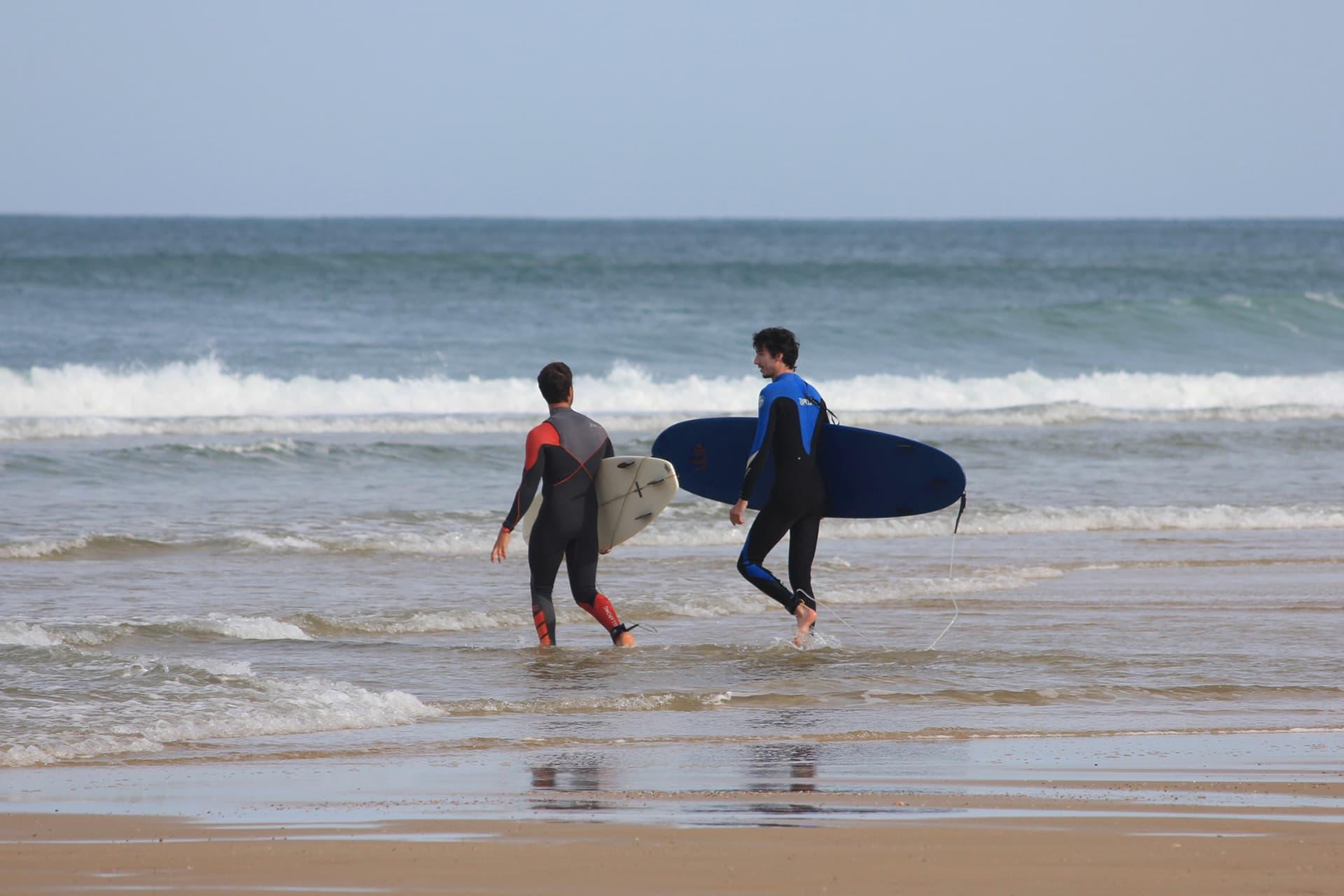 Cours de surf particulier à Lacanau
